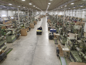 The Rodon Group factory floor.