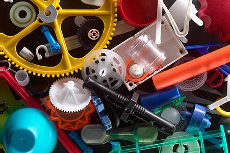 small plastic parts