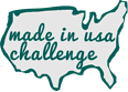 Made in the USA challenge BLOG LOGO