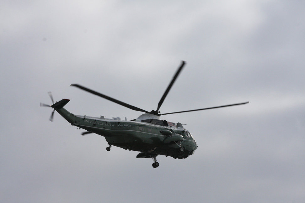 The Presidential Helicopter