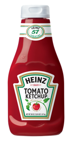 newly redesigned heinz ketchup bottle