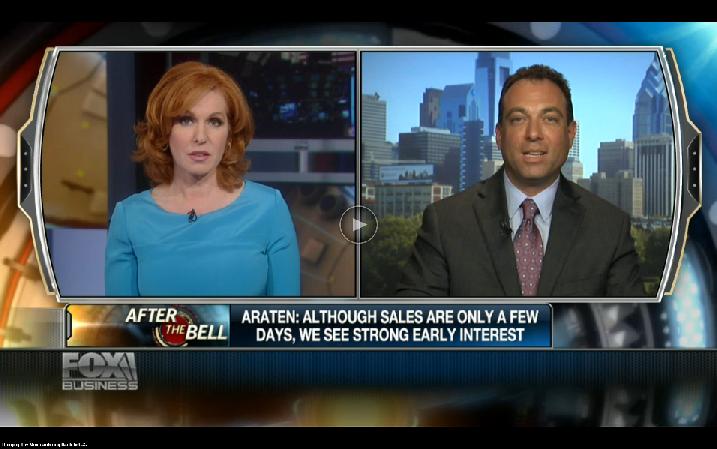 Michael Araten, K'NEX Brands interviewed on Fox Business