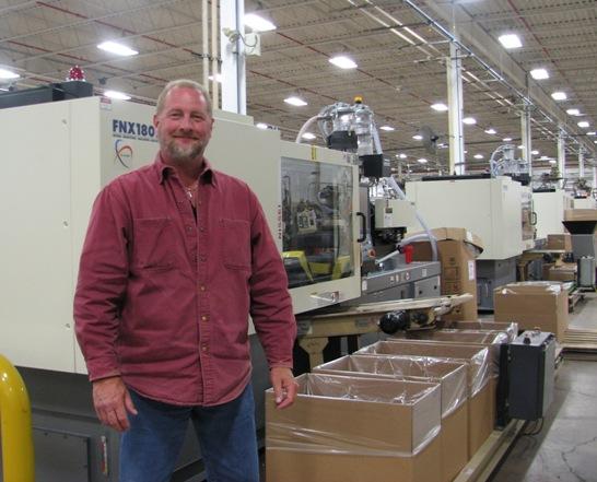 Tony Hoffman and new Nissei machine