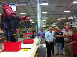 Baxter the robot at The Rodon Group