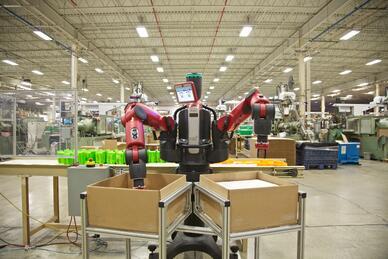 Rethink Robotics Baxter working at The Rodon Group