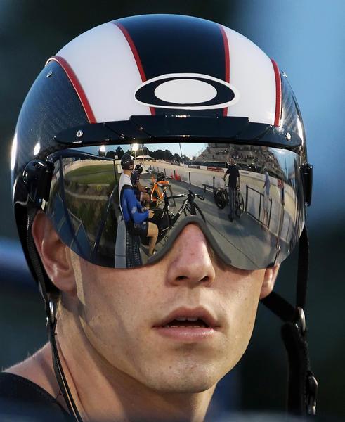 Matt Baranoski before the race
