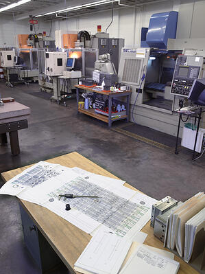 The Rodon Group CNC room