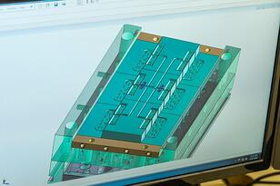 online design of a plastic injection mold