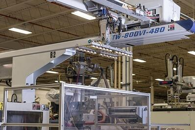 Injection molding at The Rodon Group