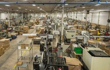 Inside Rodon's facility