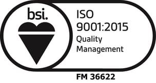 BSI Assurance Mark ISO 9001:2015 logo