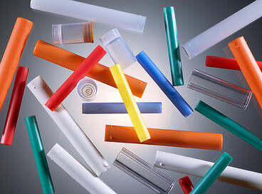 plastic injection molded tubes