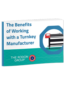The Benefits of Working with a Turnkey Manufacturer 3D eBook Cover