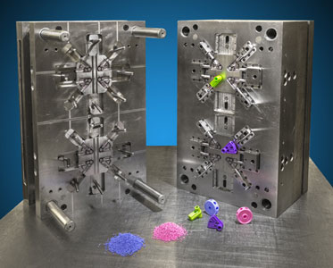 Injection mold cavity at The Rodon Group