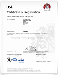 ISO certification certificate