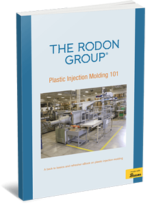 Plastic injection molding 101 3D eBook Cover