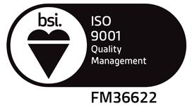 BSI Assurance Mark - ISO 9001