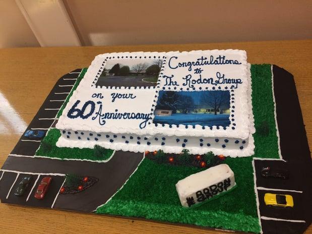 Rodon's 60th Anniversary Cake