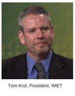 Head shot of IMET President, Tom Krol