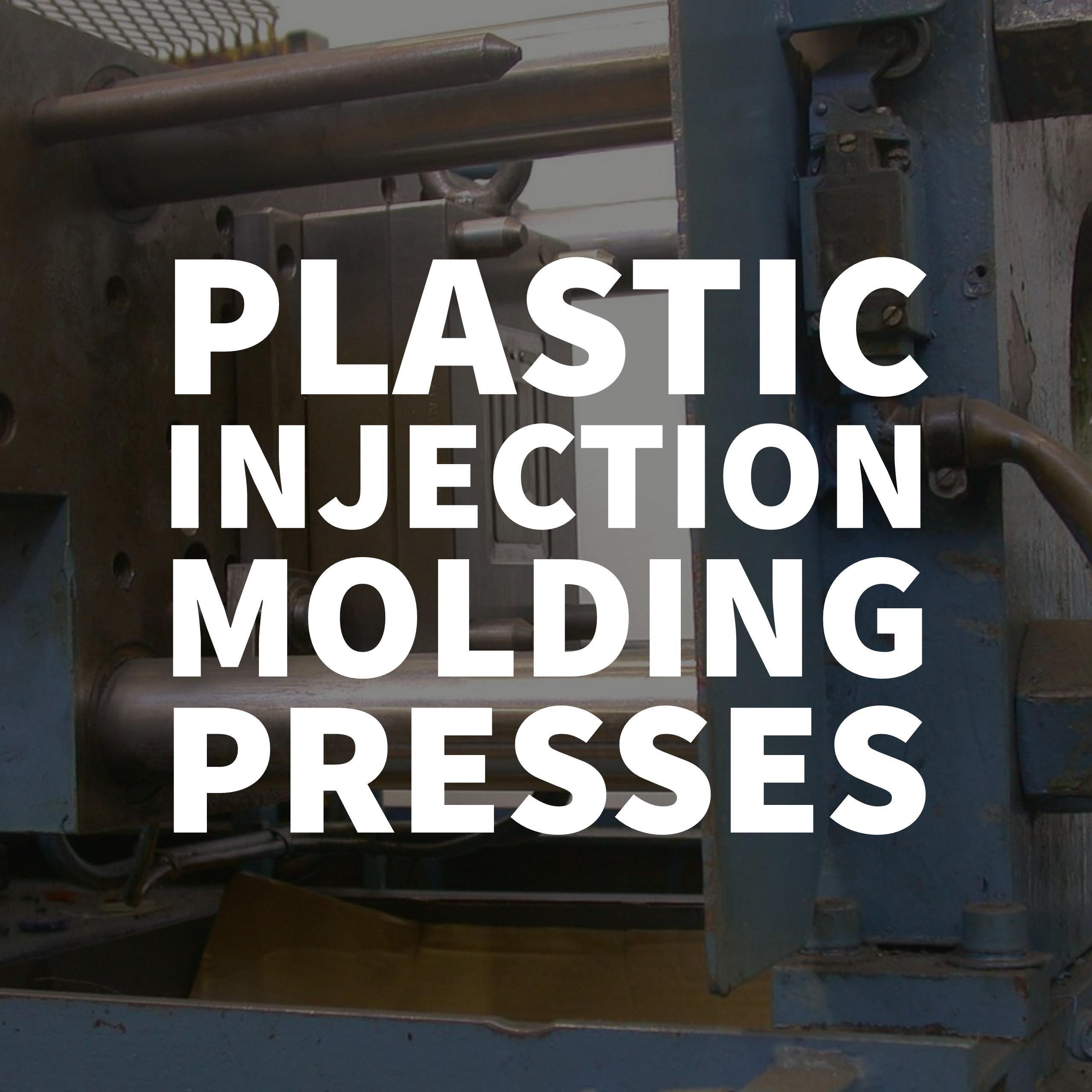 plastic injection molding presses