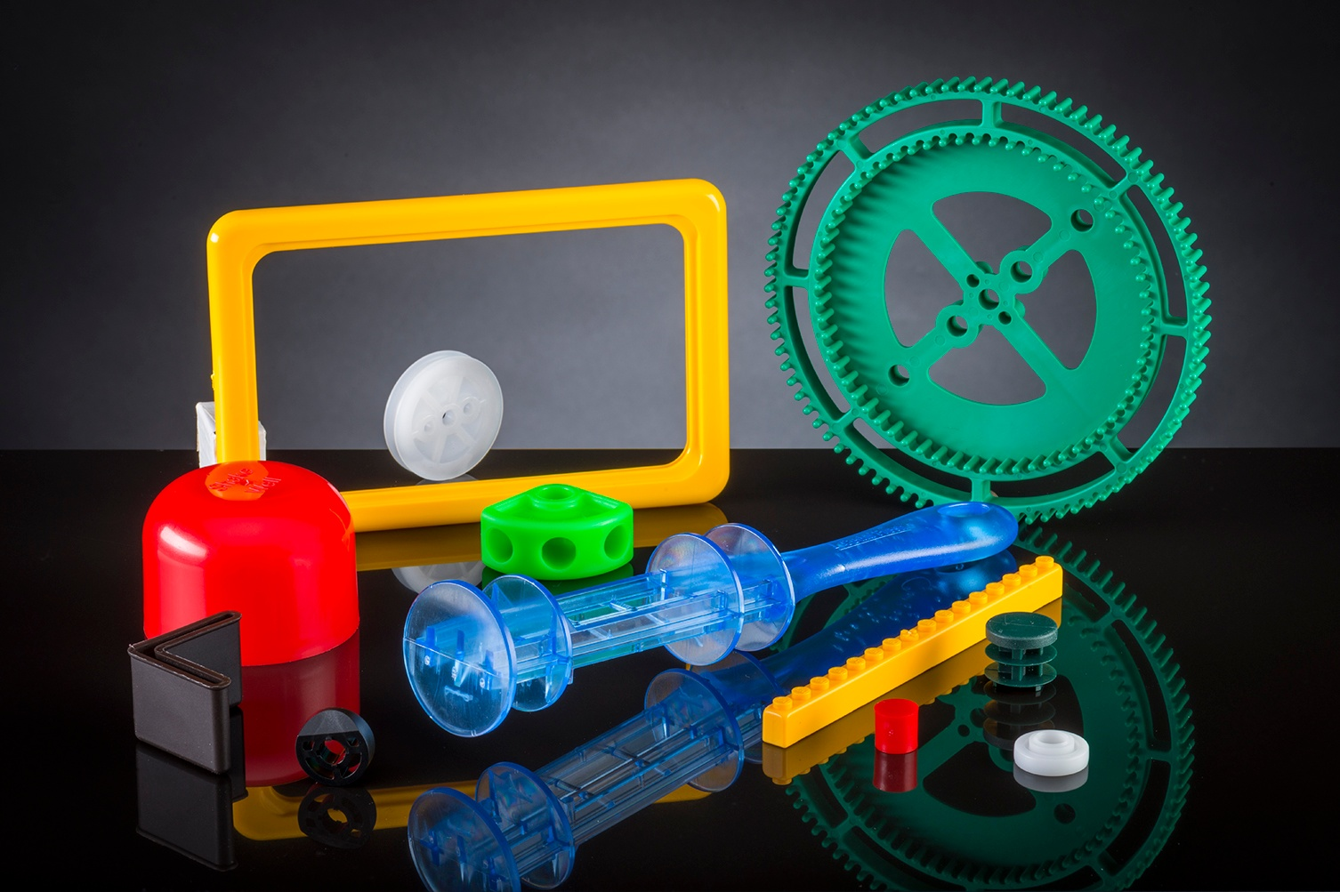 Custom plastic parts from The Rodon Group