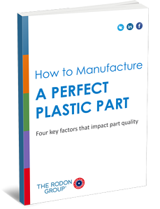 How to manufacture a perfect plastic part 3D eBook Cover