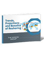 Trends, projections, and Benefits of Reshoring 3D eBook Cover