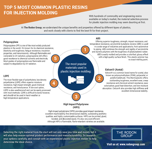 top-5-most-common-plastic-resins-for-injection-molding-infographic