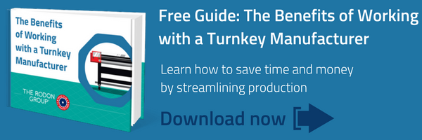 The Benefits of Working with a Turnkey Manufacturer: a free guide