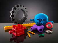 plastic toy components