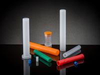 plastic tubes/vials